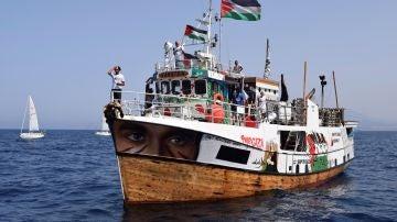 'La Flotilla de la Libertad' en el Mediterráneo hacia la Franja de Gaza