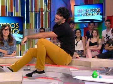 """La increíble imitación de David Amor de Peke Baldrich: """"La sirena de Murcia y grande de España"""""""
