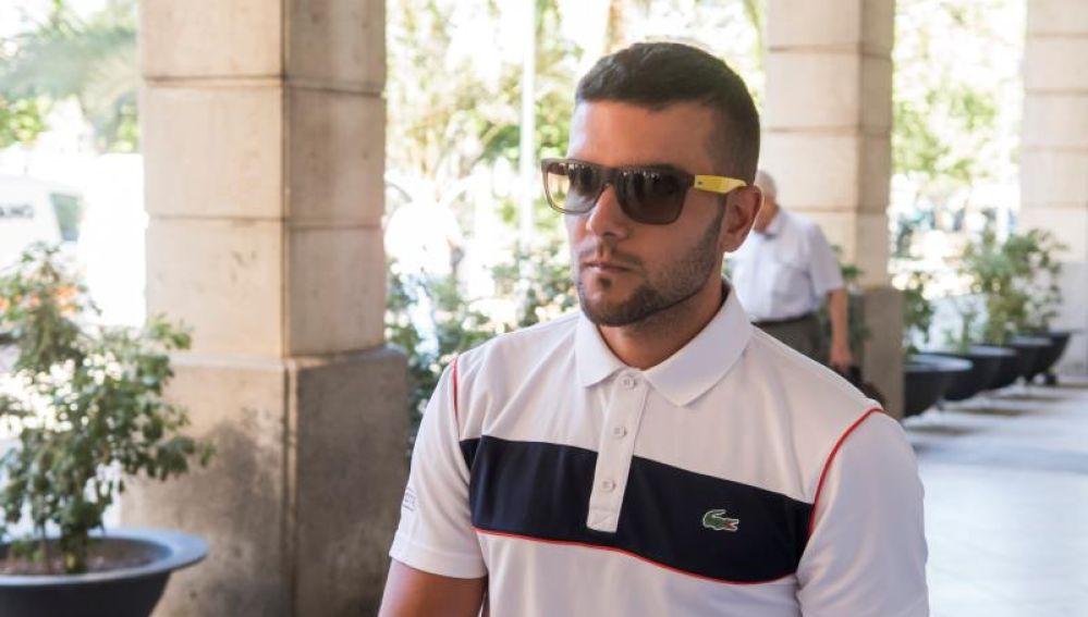 Ángel Boza, uno de los cinco integrantes de 'La Manada'