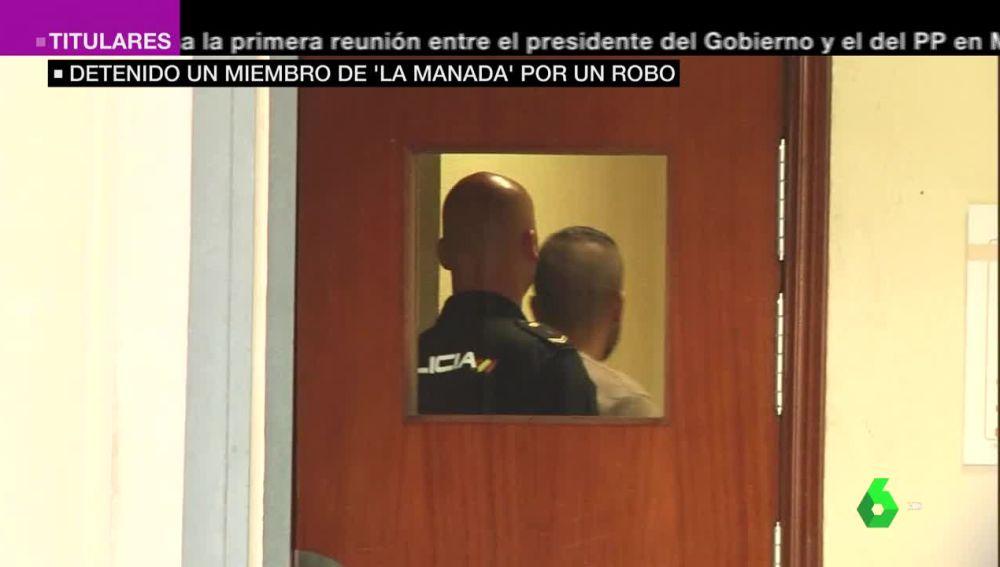 Ángel Boza, miembro de 'La Manada', en dependencia judiciales