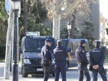 En la imagen la Policía Nacional