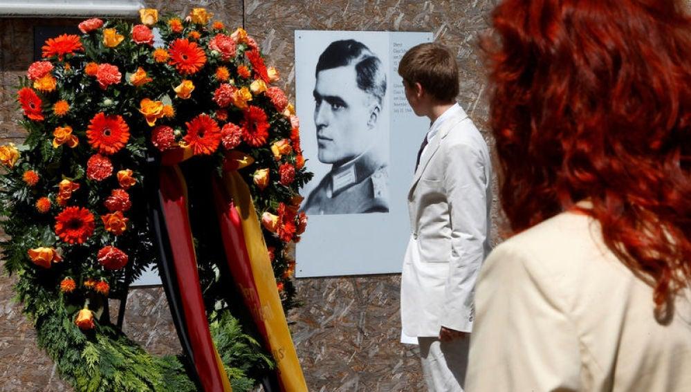 Lugar de homenaje a Claus Schenk Graf von Stauffenberg