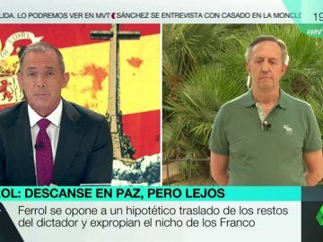 """Entrevista completa al portavoz de la Fundación Francisco Franco: """"Franco murió en la cama porque ganó en la guerra y en la paz al comunismo"""""""