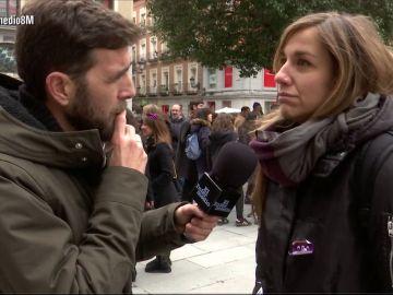 Gonzo en la huelga feminista 8M