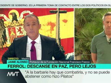 Hilario Pino contesta al portavoz de la Fundación Francisco Franco.