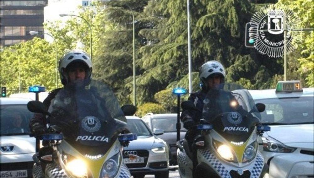 En la imagen la Policía Local de Madrid