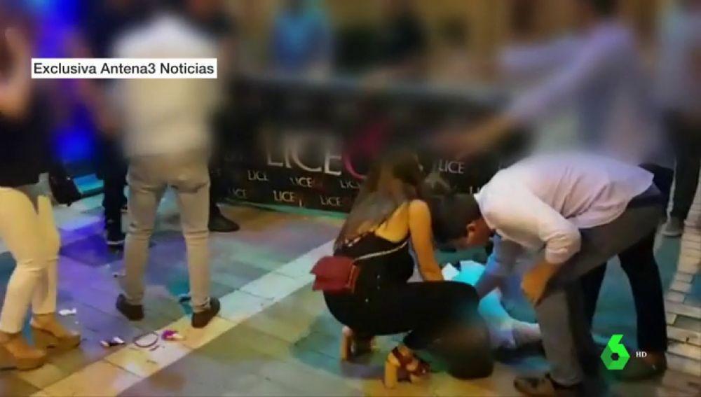 Agresión en una discoteca de Málaga