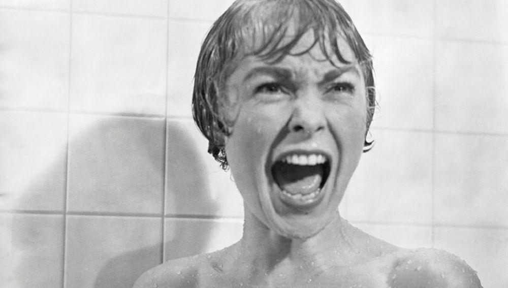 La actriz Janet Leigh en la película 'psicosis', de Hitchcock