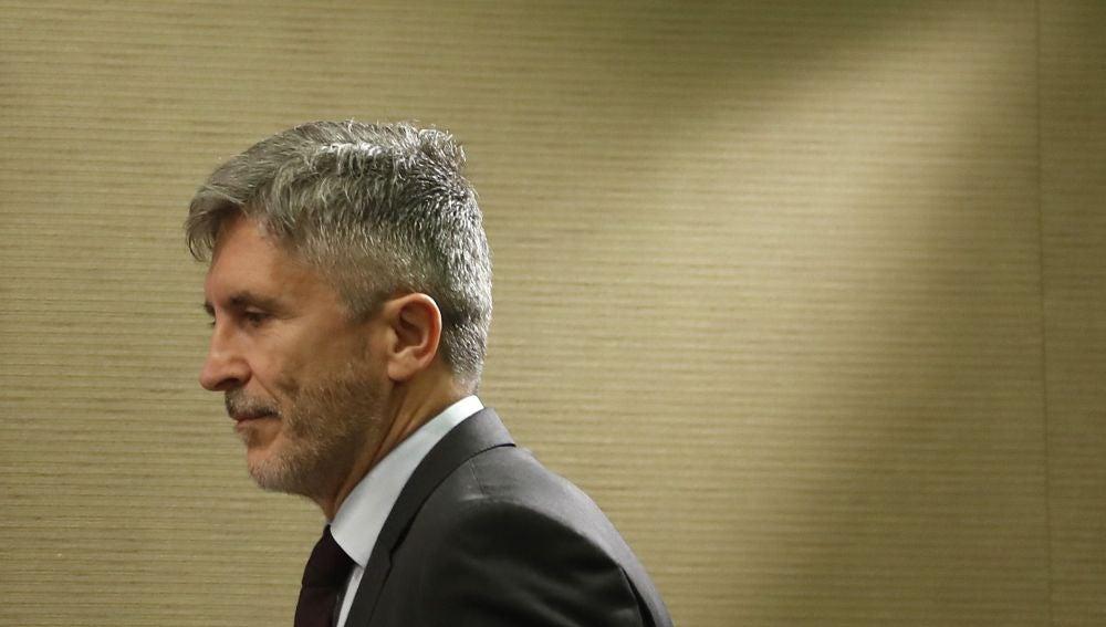 Ministro de interior, Fernando Grande-Marlaska