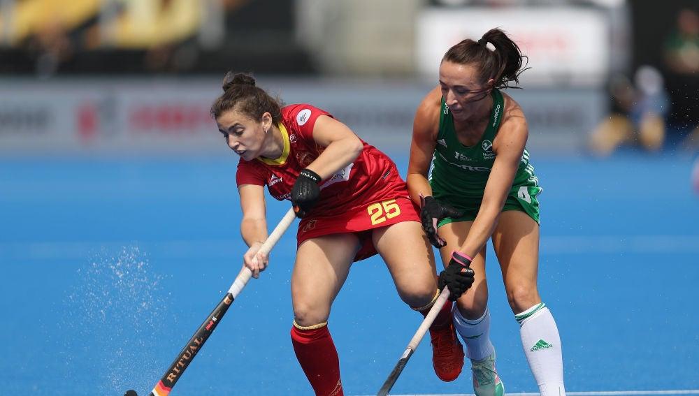 Alicia Magaz pelea ante la irlandesa Yvonne O'Byrne