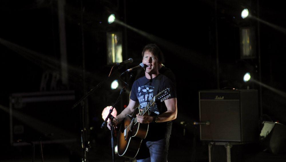 James Blunt actúa en el Starlite Festival