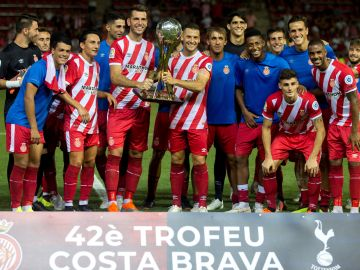 El nuevo Girona de Eusebio Sacristán se exhibe ante el Tottenham