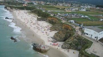 Playa de Fonteo Valea, Barreiros