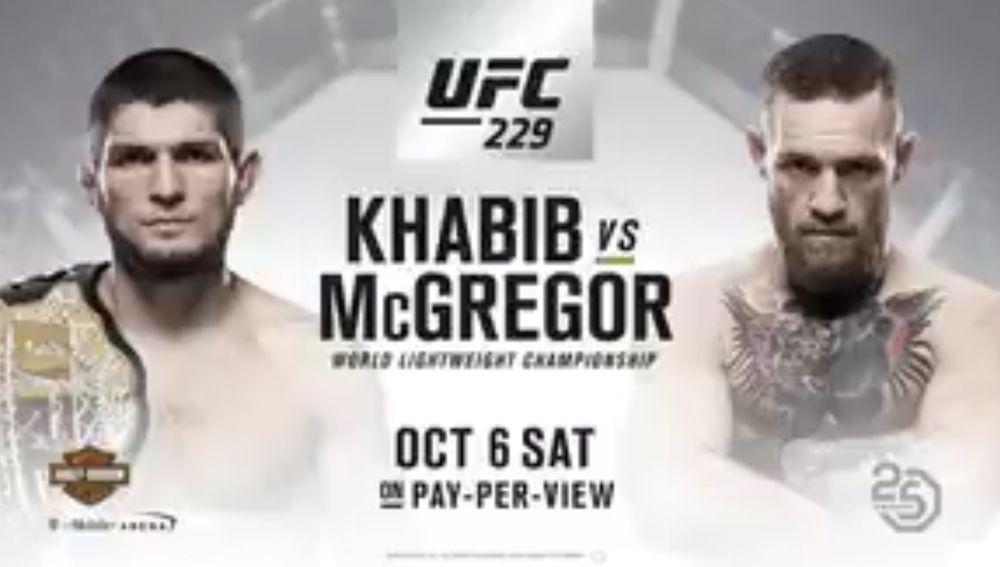 Khabib vs McGregror, el próximo 6 de octubre