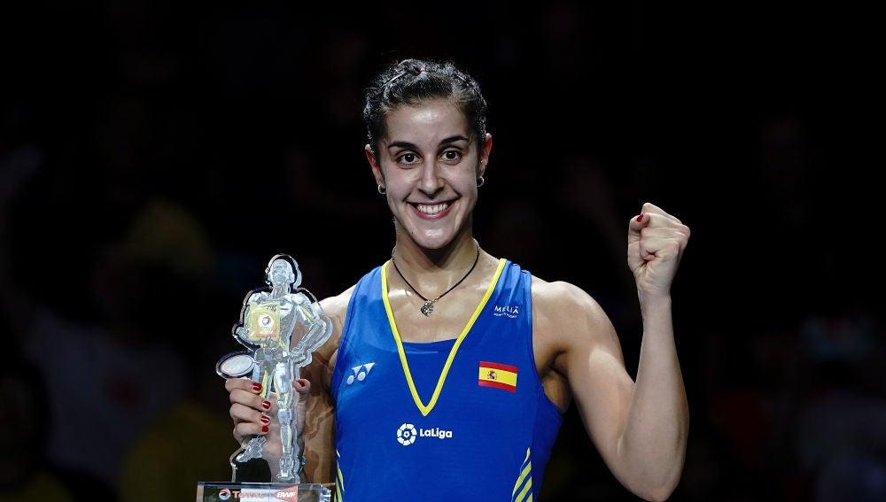 Carolina Marín, nueva campeona del Mundo de bádminton