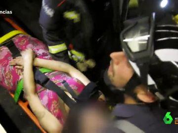 Ambulancias en el corazón de la ciudad
