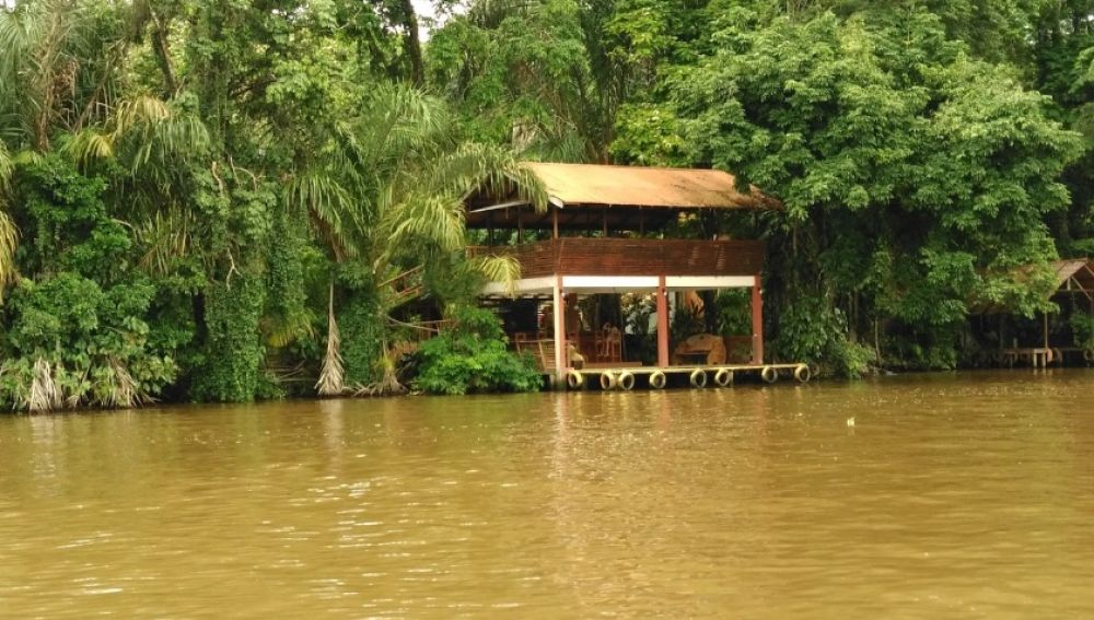 Parque Nacional Tortuguero, en Costa Rica, donde se sitúa el hotel.