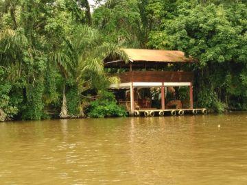 Parque Nacional Tortuguero, en Costa Rica