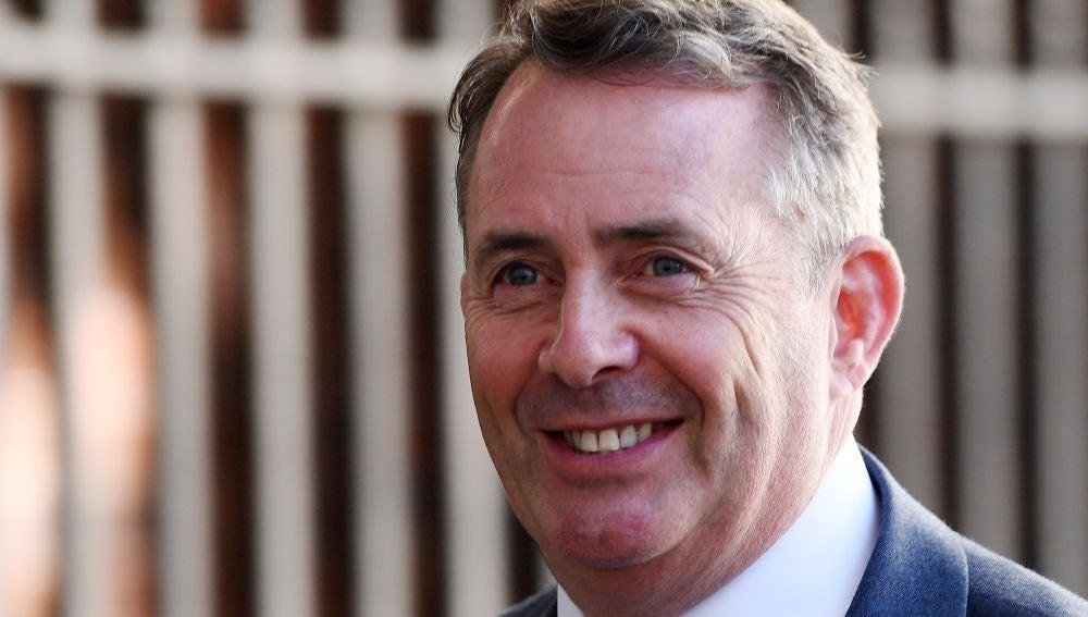 Liam Fox, el ministro británico de Comercio Internacional