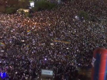 Manifestación de drusos en Israel