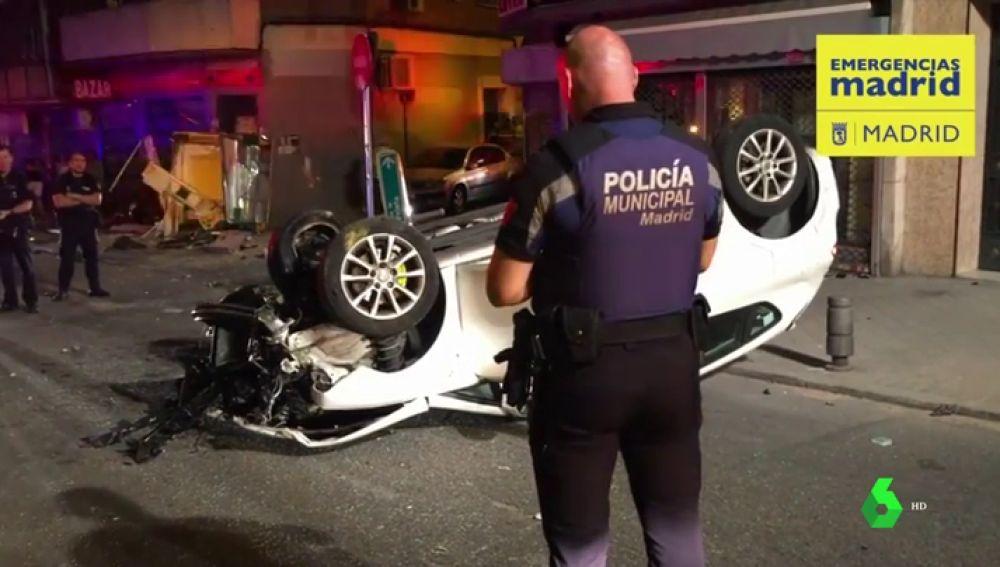 Accidente de tráfico en Madrd
