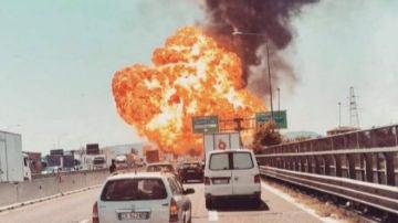 Fuerte explosión cerca del aeropuerto de Bolonia