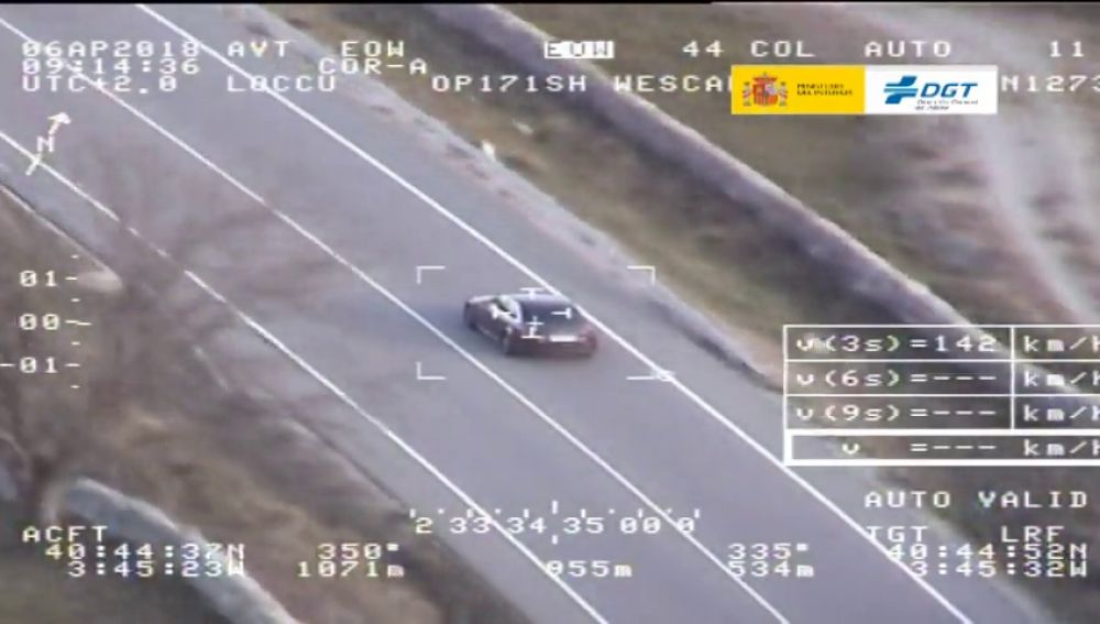 La DGT inicia una campaña de vigilancia de velocidad