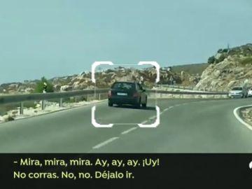 Un conductor que sembró el pánico en Málaga