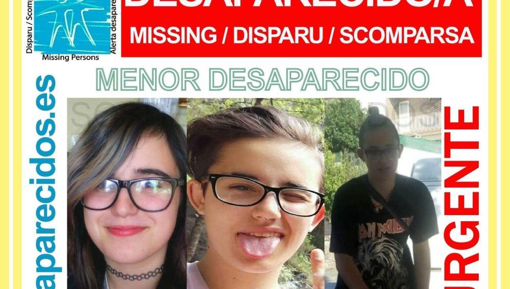 Elisabeth Belmonte, menor desaparecida en Ourense