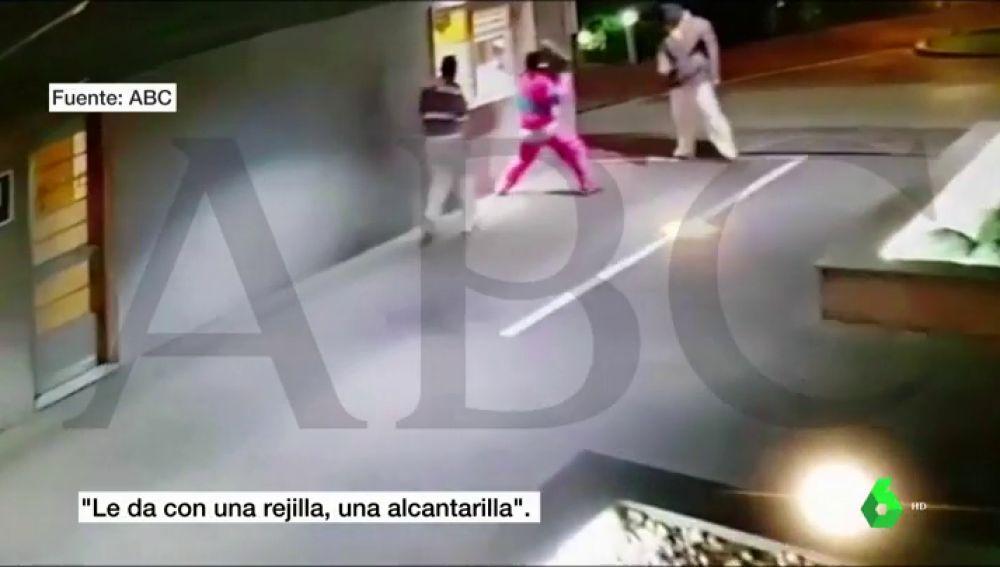 Tres encapuchados intentan asaltar un hotel de Alcalá de Henares con una alcantarilla
