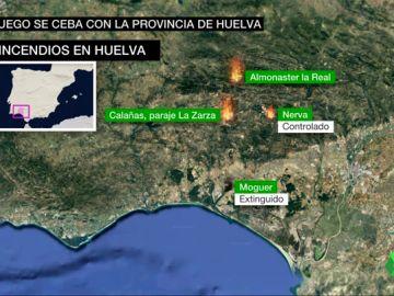 El verano en Huelva, una pesadilla envuelta en fuego: se investiga si los cuatro incendios sufridos fueron provocados