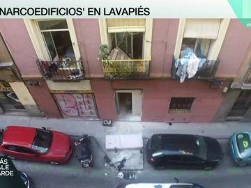 Narcoedificio en Lavapiés.