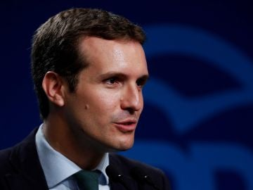 El presidente del PP y diputado por Ávila, Pablo Casado