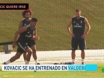Kovacic se entrena en Valdebebas mientras busca su salida del Real Madrid