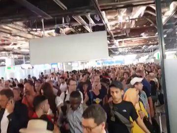 Desalojado el aeropuerto de Frankfurt