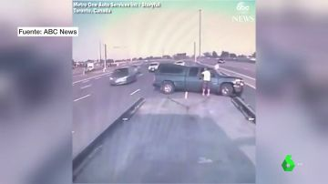 Accidente de tráfico en Canadá