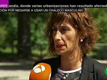 """Habla Pilar, la guardia civil suspendida por negarse a vestir un chaleco antibalas de hombre: """"Tenemos que luchar mucho, a la vista está"""""""
