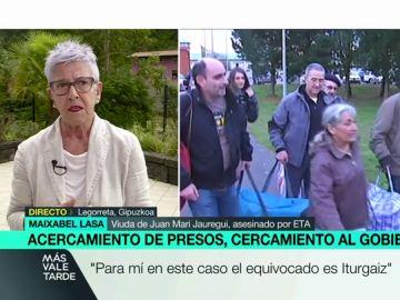 Maixabel Lasa, viuda de una víctima de ETA.