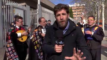 Gonzo en la Asamblea de Madrid