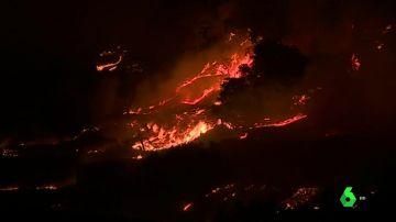 Incendio en el Algarve, Portugal