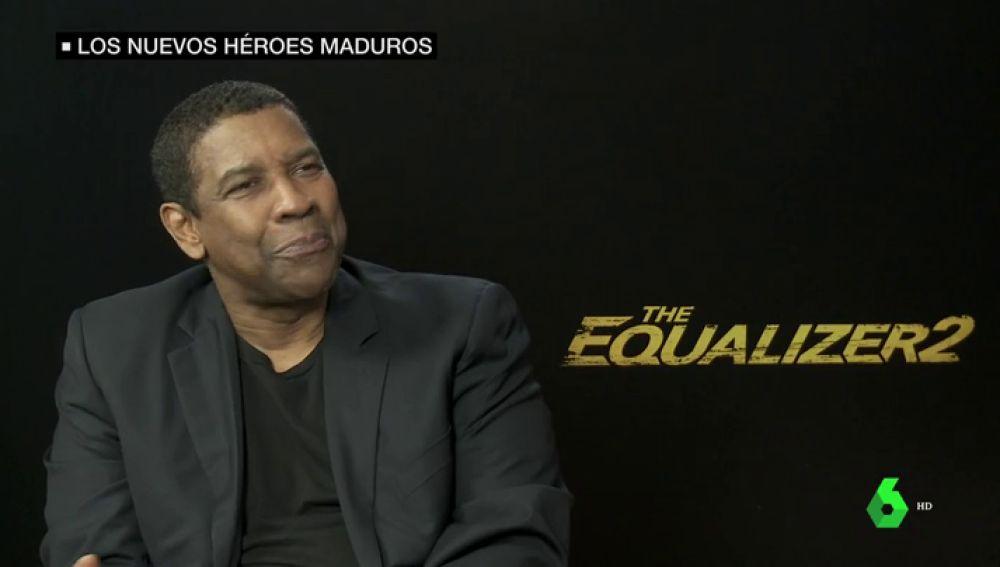 """Denzel Washington y la jubilación, o cómo seguir atizando a los malos con 63 años: """"Esto es solo una película"""""""