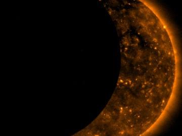 El 11 de agosto se da un eclipse solar parcial