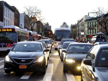 Tráfico en Nueva York