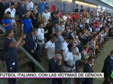 La Sampdoria y el Genoa, presentes en los funerales de las víctimas de Génova