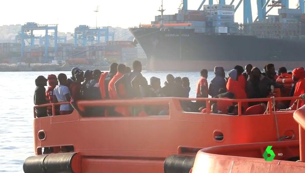 Salvamento Marítimo ha rescatado a casi 1.700 personas en seis días