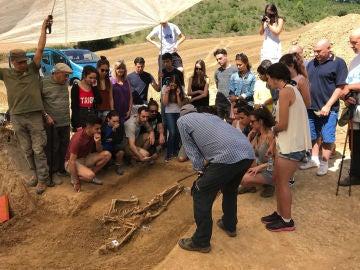 Exhumación en Artzazu