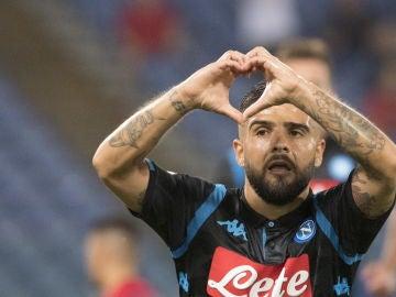 El nuevo Nápoles de Ancelotti debuta con victoria 2-1 en el campo del Lazio