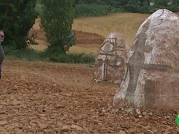 Obras de arte en la naturaleza: la iniciativa de dos vecinos de Santa Lucía de Ocón