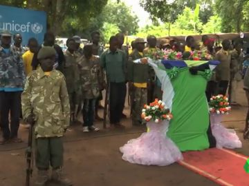 Niños soldado en Sudán del Sur