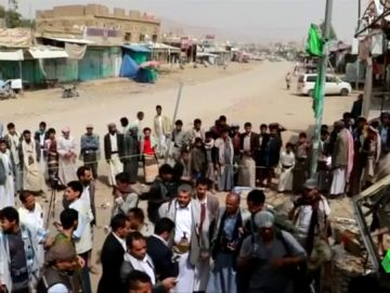 EE.UU. vendió a Arabia Saudí la bomba que mató a 40 niños en un autobús escolar en Yemen